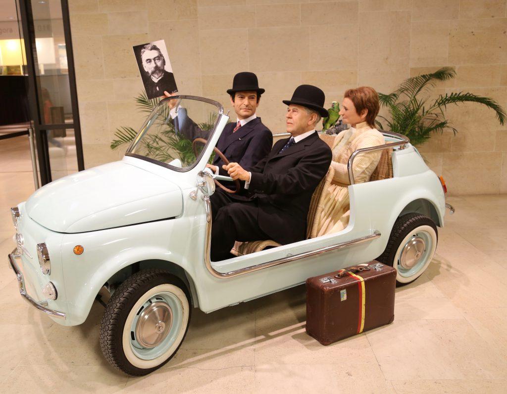 Magritte, Broodthaers et Mari en route pour Sala y Gomez
