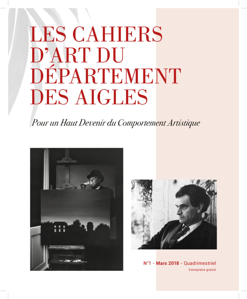 Les Cahiers d'art du Département des Aigles-1